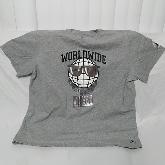 cb8ff1076e7c03 Jordan Other - Air Jordan Men s Gray T-Shirt 3XL